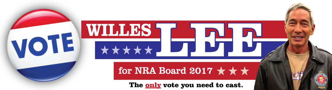 Willes K. Lee for NRA Board 2017